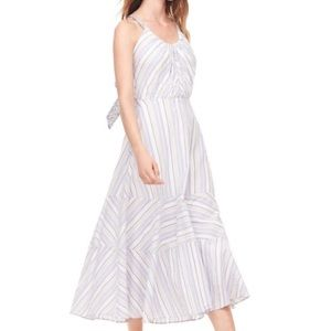 Rebecca Taylor La Vie Leila stripe dress, size XL